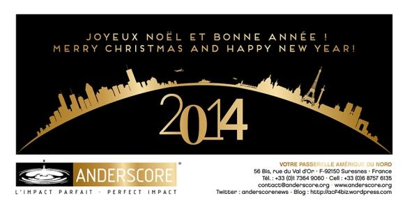 Happy New Year! Bonne Année 2014